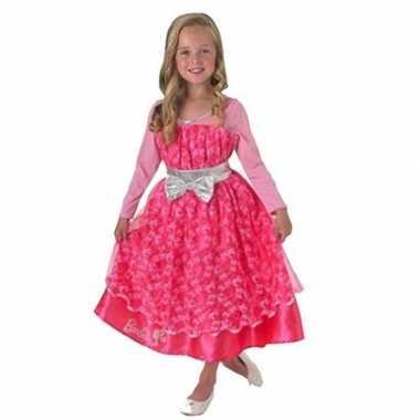 Barbie carnavalskleding roze meisjes