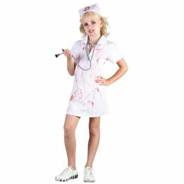 Bloederige verpleegster carnavalskleding meisjes