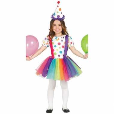 Carnavalskleding clown carnavalskleding meisjes