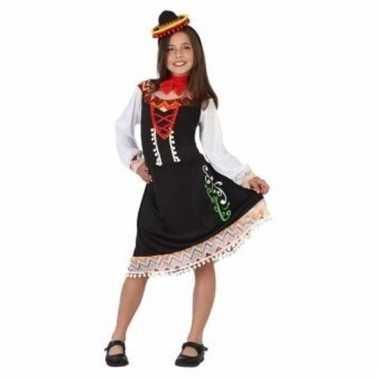Carnavalskleding mariachi meisje meisjes