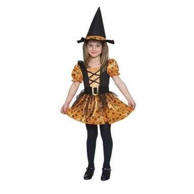 Carnavalskleding oranje heksen carnavalskleding meisjes