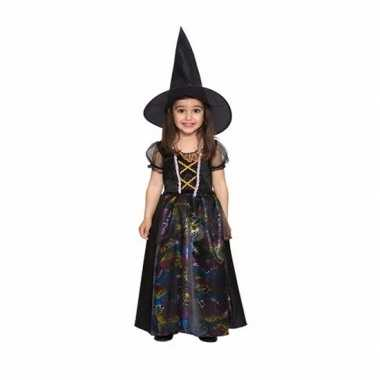 Carnavalskleding peuters zwarte heksen carnavalskleding meisjes