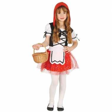 Carnavalskleding roodkapje meisjes