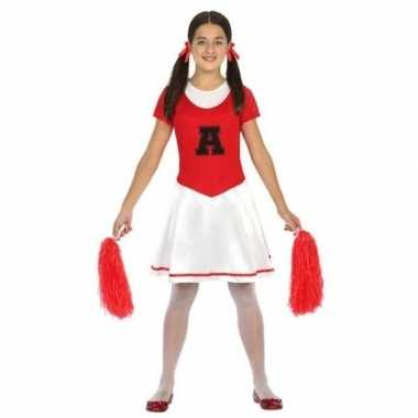 Cheerleader carnavalskleding meisjes