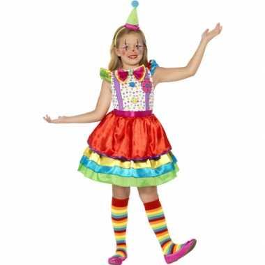 Clown carnavalskleding meisjes