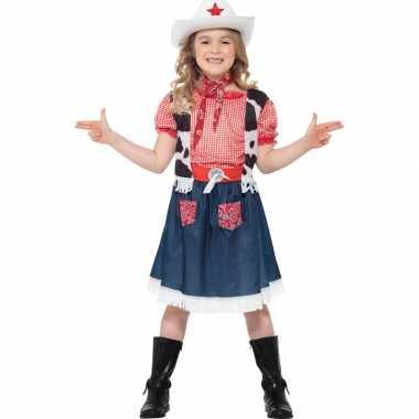 Cowgirl carnavalskleding meisjes