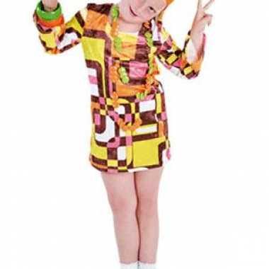 Disco kinder carnavalskleding meisjes