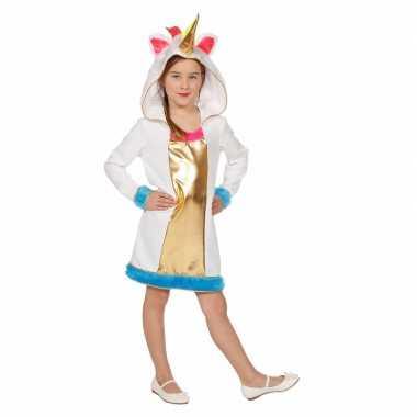Eenhoorn dieren carnavalskleding meisjes