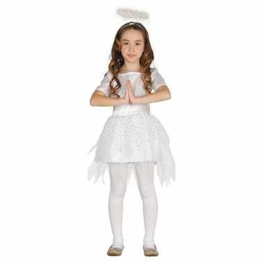 Engelen carnavalskleding raziel aureool/halo meisjes