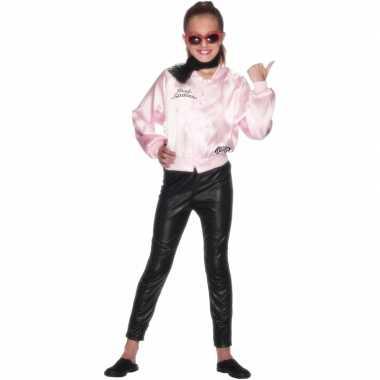 Grease jasje meisjes carnavalskleding