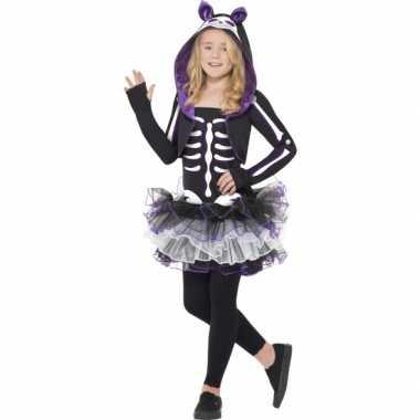 Halloween katten carnavalskleding meisjes