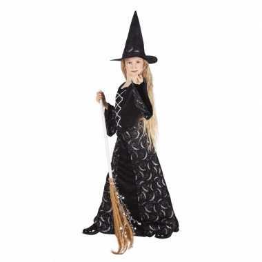 Halloween meisjes heksen carnavalskleding kid midnight
