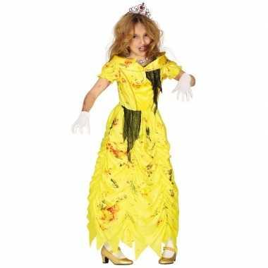 Halloween zombie prinses carnavalskleding meisjes