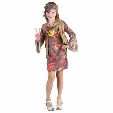 Hippie carnavalskleding meisjes