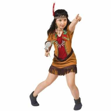 Indiaans meisje carnavalskleding eagle meisjes