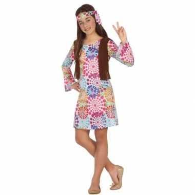Jaren hippie carnavalskleding meisjes