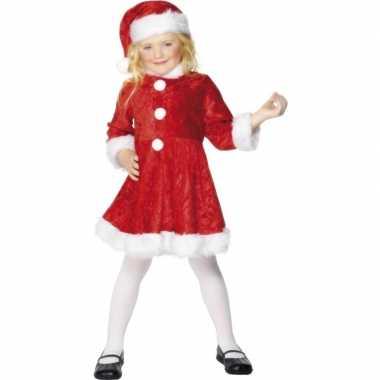 Kerst carnavalskledings meisjes