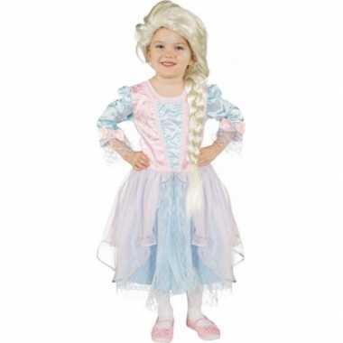 Lichtblauw prinsessen carnavalskleding meisjes