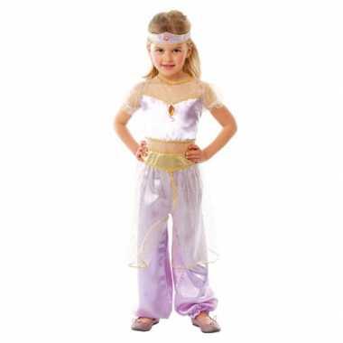 Luxe paars arabische prinses carnavalskleding meisjes