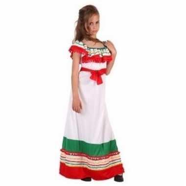 Meisjes carnavalskleding mexicaanse dame 10092021