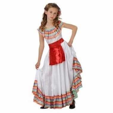 Meisjes carnavalskleding mexicaanse dame