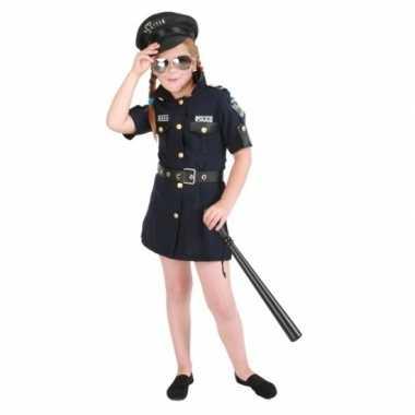 Meisjes politie carnavalskleding