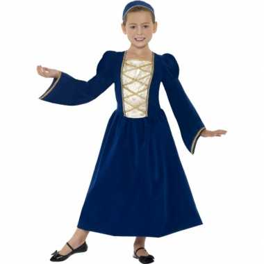 Middeleeuws prinses carnavalskleding meisjes