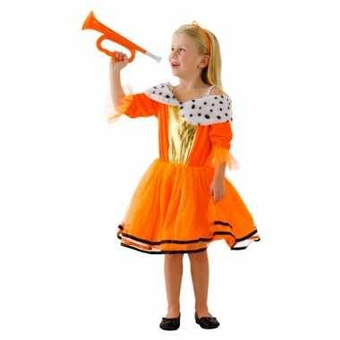 Oranje koninginnen carnavalskleding meisjes