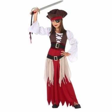 Piraten carnavalskleding/carnavalskleding meisjes