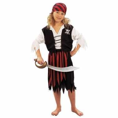 Piraten carnavalskleding meisjes