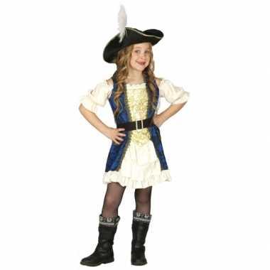 Piraten kapitein carnavalskleding meisjes
