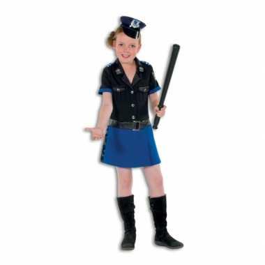 Politie carnavalskleding meisjes