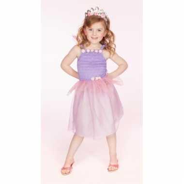Prinsessen carnavalskleding kelly lila meisjes