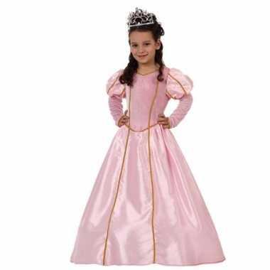 Prinsessen carnavalskleding meisjes roze