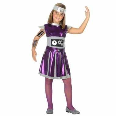 Robot verkleedset meisjes carnavalskleding