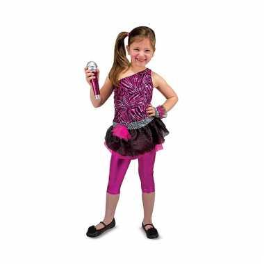 Rockster verkleedset meisjes carnavalskleding