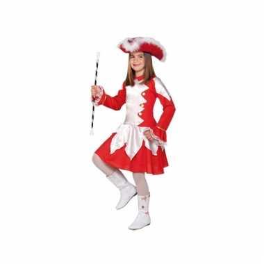 Rode dansmarieke carnavalskleding meisjes