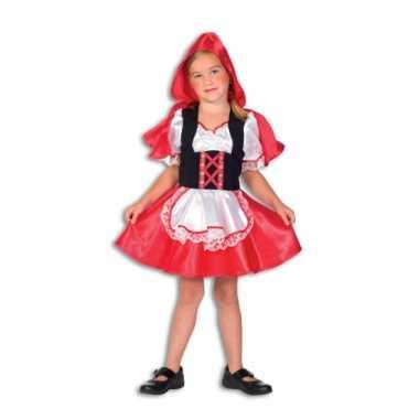 Roodkapje carnavalskleding meisjes