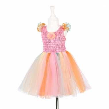 Roze prinsessen carnavalskleding gekleurde tutu meisjes