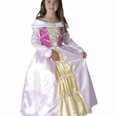Roze prinsessen carnavalskleding meisjes