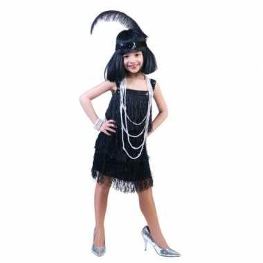 Showgirl carnavalskleding meisjes