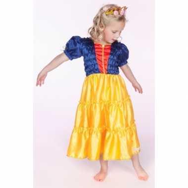 Sprookjesprinsessen carnavalskleding selina blauw meisjes