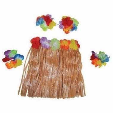 Verkleedsetje hawaii meisje carnavalskleding meisjes