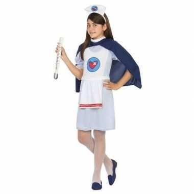Verpleegster/zuster uniform carnavalskleding meisjes