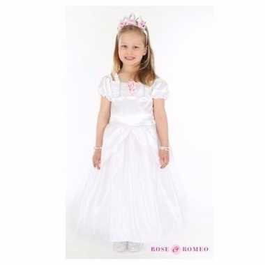 Wit trouw carnavalskleding meisjes