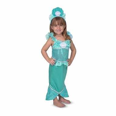 Zeemeerminnen verkleedset meisjes carnavalskleding