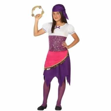 Zigeuner esmeralda carnavalskleding meisjes
