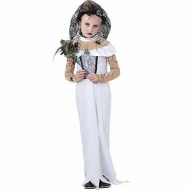 Zombie bruid meisjes carnavalskleding