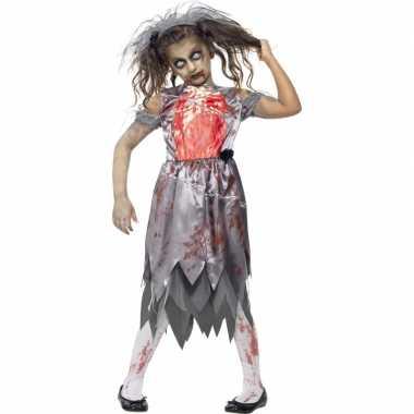 Zombie trouwcarnavalskleding meisjes